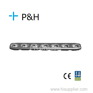 Radius and ulna Compression Locking Plate/ Placa Bloqueada Compresion para Cubito y Radio; Orthopaedic Implant