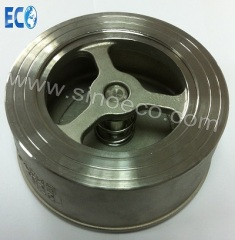 Stainless Steel Spring Type Wafer Check Valve, Disc Type Check Valve