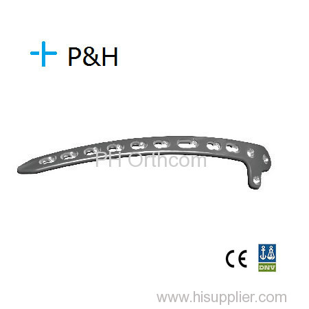 Distal Lateral Humeral Locking Plate/Placa Bloqueada para Humero Distal Lateral; Orthopaedical Implant Locking System