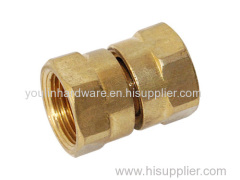Brass compression ferrule fittings