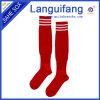 Wholesale football sock/100% nylon soccer sock/stripe football sock