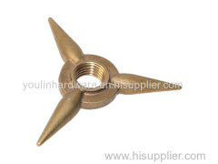 CNC maching service triangle parts