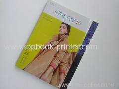 B5 PVC+art paper cover gold stamping matt lamination softcover book with PVC dust jacket