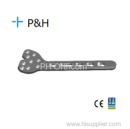 Orthopaedical Implant Locking System Distal Medial Radius Locking Plate left and right type