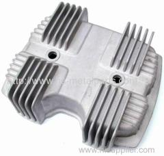 Aluminium die casting for motorcycle engine