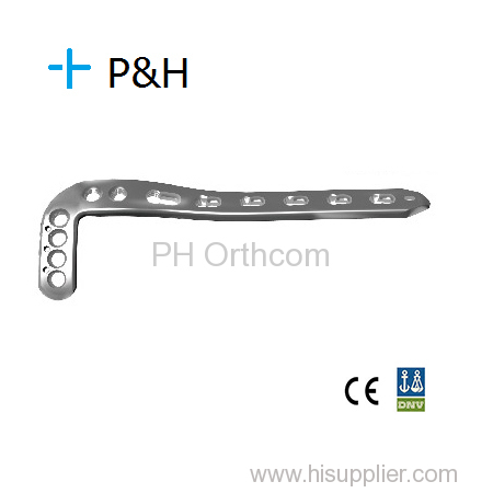 Orthopaedical Implant Locking System Distal Tibial Lateral Locking Plate II & III left and right type