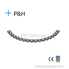 Trauma Orthopaedic Implant Titanium and S.S Locking System Pelvic Locking Plate