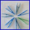 disposable medical plastic tweezer