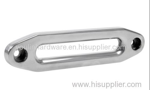 Off road winch heavy duty offset aluminum hawse fairlead
