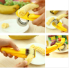Multi function kitchen banana cutter banana slicer