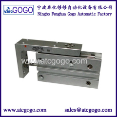 pneumatic piston slide table cylinder accurate compact air sliding cylinders
