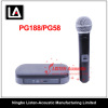 Professional Single Channel UHF Wireless Microphone PG188-PG58