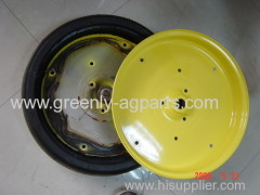 JOHN DEERE Planter Steel Yellow Gauge wheel half AA27780 fits MaxEmerge