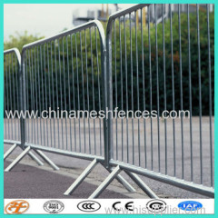 temporary police fence panels for the traffic/event