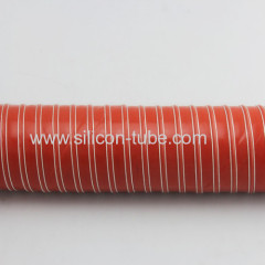 "152mm 6"" BLACK Flexible Silicone Turbo Air Handing Intake Duct Hose High Temperature Resistant Silicone Duct 4M"