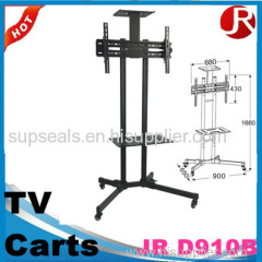 LCD / TV mobile floor Stand LED LCD plasma tv cart with wheels
