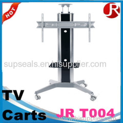 32-80 inch screen meeting mobile carts up and down manually tilting TV LCD TV floor stand