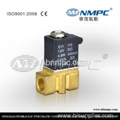 1/4 Размер 2,5 мм отверстие небольшой электромагнитный клапан