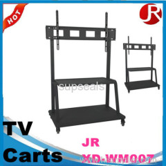 LCD TV Trolley Stand / Mobile TV Stand with Wheels