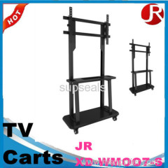 Movable LCD TV Cart design moveable lcd tv cart with wheels