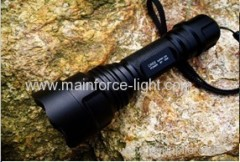 Led alloy and high-power flashlight