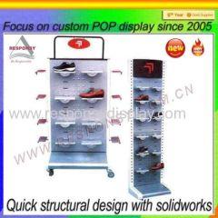 2015 Hot Sale Retail Store/Supermarket Shoe Display Rack