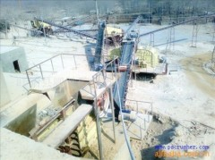 small construction equipment high capacity stone crushing plant
