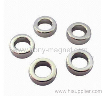 Permanent Axially Magnetized NdFeB Ring Magnets