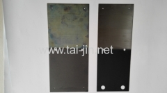 Manufacture of Titanium Anode of Electrolyzing Sodium Hypochlorite