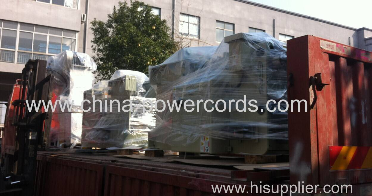 Press machines and lathe machines are ready for delivery