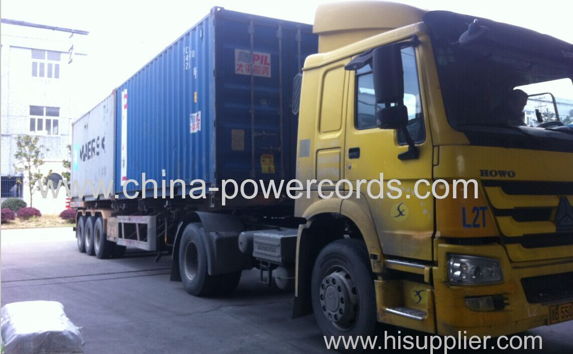 container delivery for plug inserts to overseas market