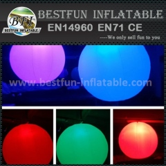 Outdoor Decoration LED Inflatable Balloon