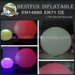 Inflatable ground LED ball advertising