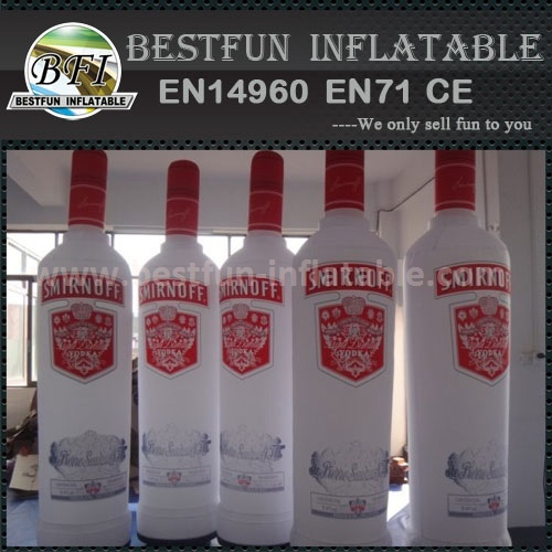Advertising custom pvc inflatable bottle