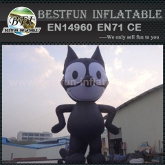 Halloween black cat inflatable model