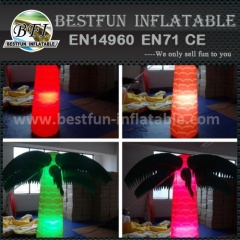 Inflatable palm tree with led light for promotion