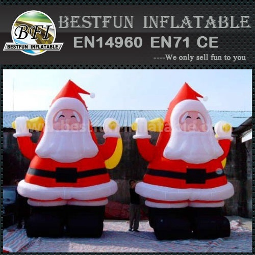 Outdoor inflatable christmas model