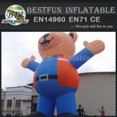 Commercial inflatable beautiful bear for sale