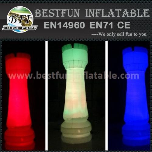 Inflatable lighting thunder sticks