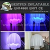 Customized hanging led inflatable jellyfish for party decoration