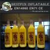 Customized Inflatable advertising bottle for promotion