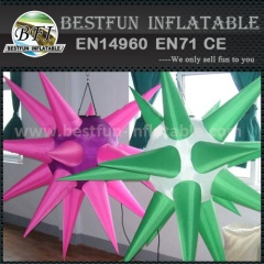 Customized Colorful inflatable star