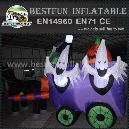 Promotional inflatable halloween model