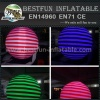 Inflatable balloon decoration with LED lights