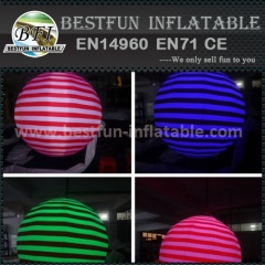 High quality inflatable led balloon decoration