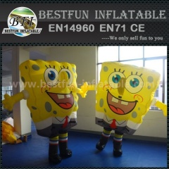PVC Inflatable SpongeBob model