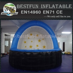 Bowery inflatable tent for advertising