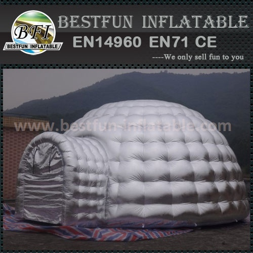 Large inflatable tent with your printing china supplying
