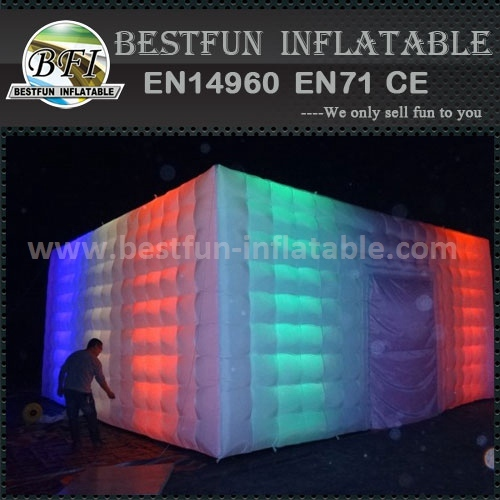 LED lighting cube tent