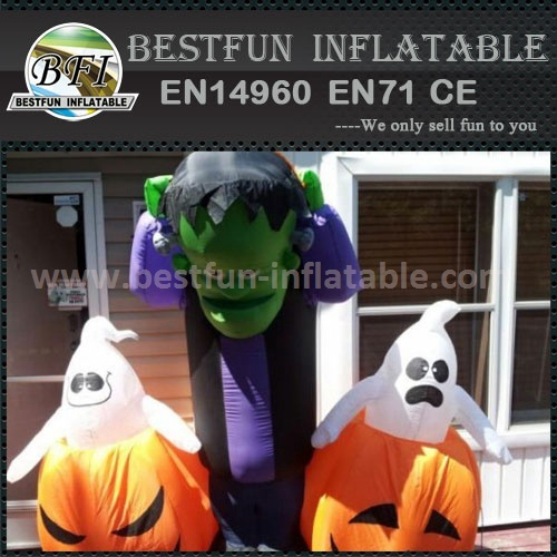 Halloween air blown inflatables